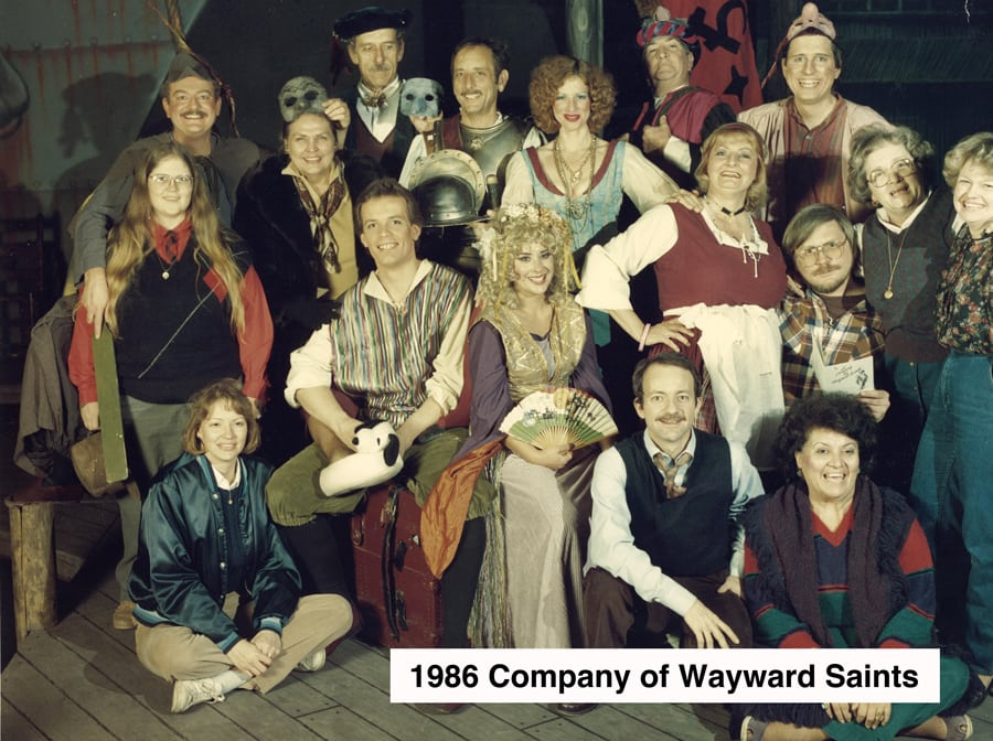 1986-Feb-Company-of-Wayward-Saints-cast-photo